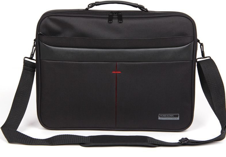 "Laptop Bag 15.6"" K8444W-A :: Corporate Series - Black"