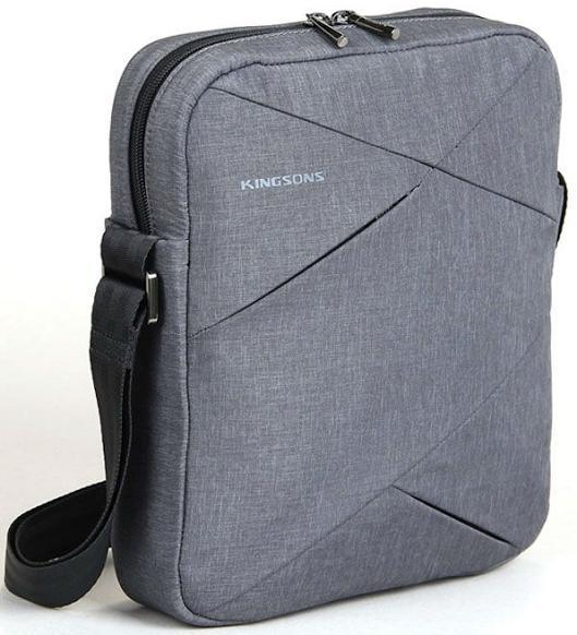 "Tablet Bag 10.1"" K8517W-G :: Sliced series - Grey"