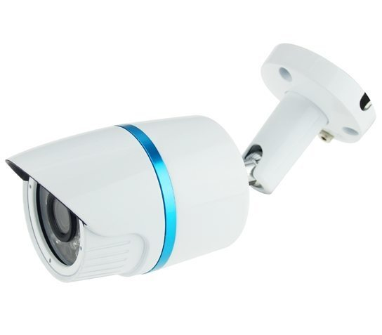 AHD Outdoor Metal Bullet Camera - 1/2.9 Sony 2.4MP/1080P/3.6mm F2.0/IR 20M/White - LBN24AD200S