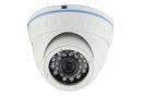 Analog Metal Dome Camera - 800TVL/3.6mm F2.0/IR 20m/White - LIRDNSM