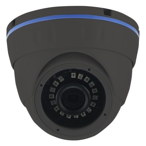IP HD Metal Dome Camera - 1/2.9 Sony Low illumination 2.4MP/1080P/2.8-12mm F2.0/IR 30m/PoE/Black - LIRDNTA200-POE