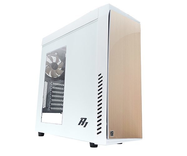 Case ATX R1 WHITE Soundproof USB3.0