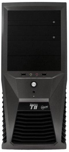 Case SILENTIUM T11 Black - 2x 120mm TC