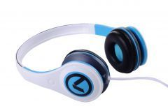 Слушалки Freestylers - Headphones (White & blue) AM2002/WB