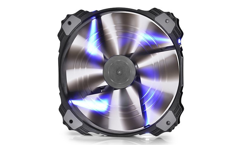 Fan 200mm Blue LED - XFAN 200BL