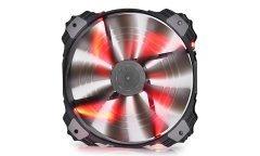 Fan 200mm Red LED - XFAN 200RD