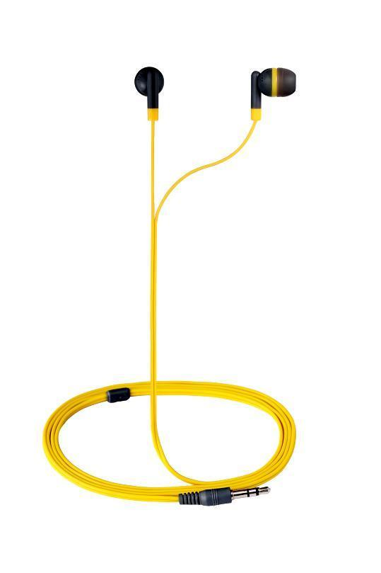 Слушалки Revolutionary In-earphones Yellow&grey AM1001/YG