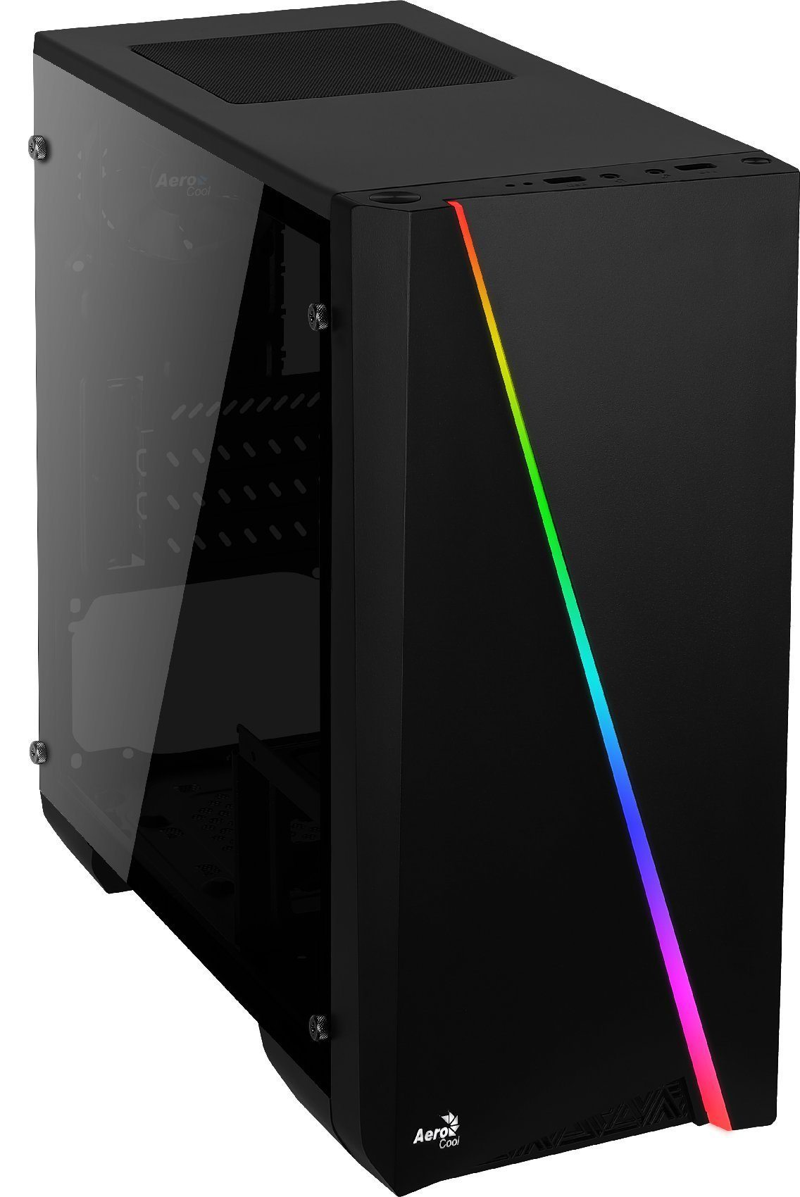 AeroCool кутия Case mATX - Cylon Mini BG - RGB, Tempered glass - ACCS-PV12013.11