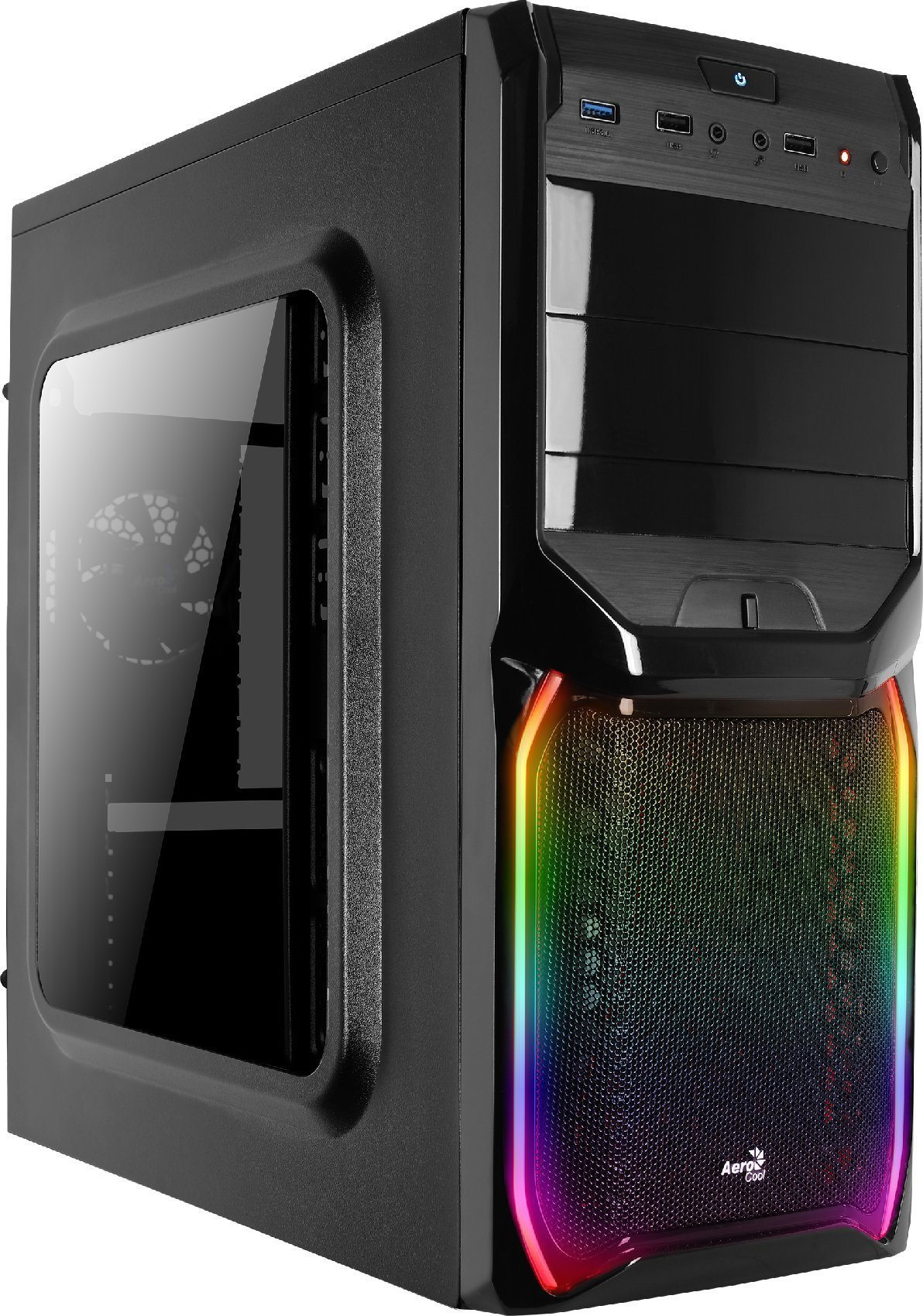 AeroCool кутия Case ATX - V3X RGB Window - ACCM-PV11011.11