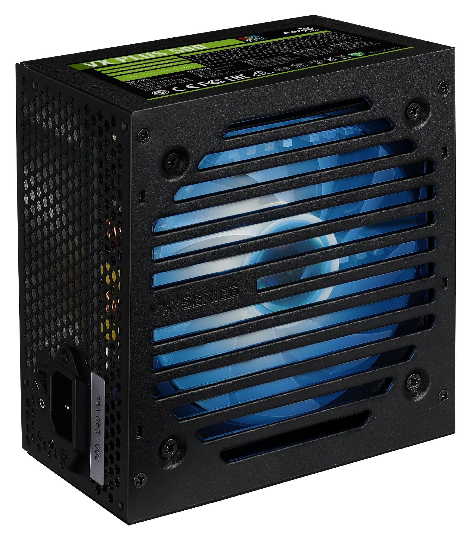 захранване PSU VX PLUS 500W RGB - ACPN-VS50NEY.AR