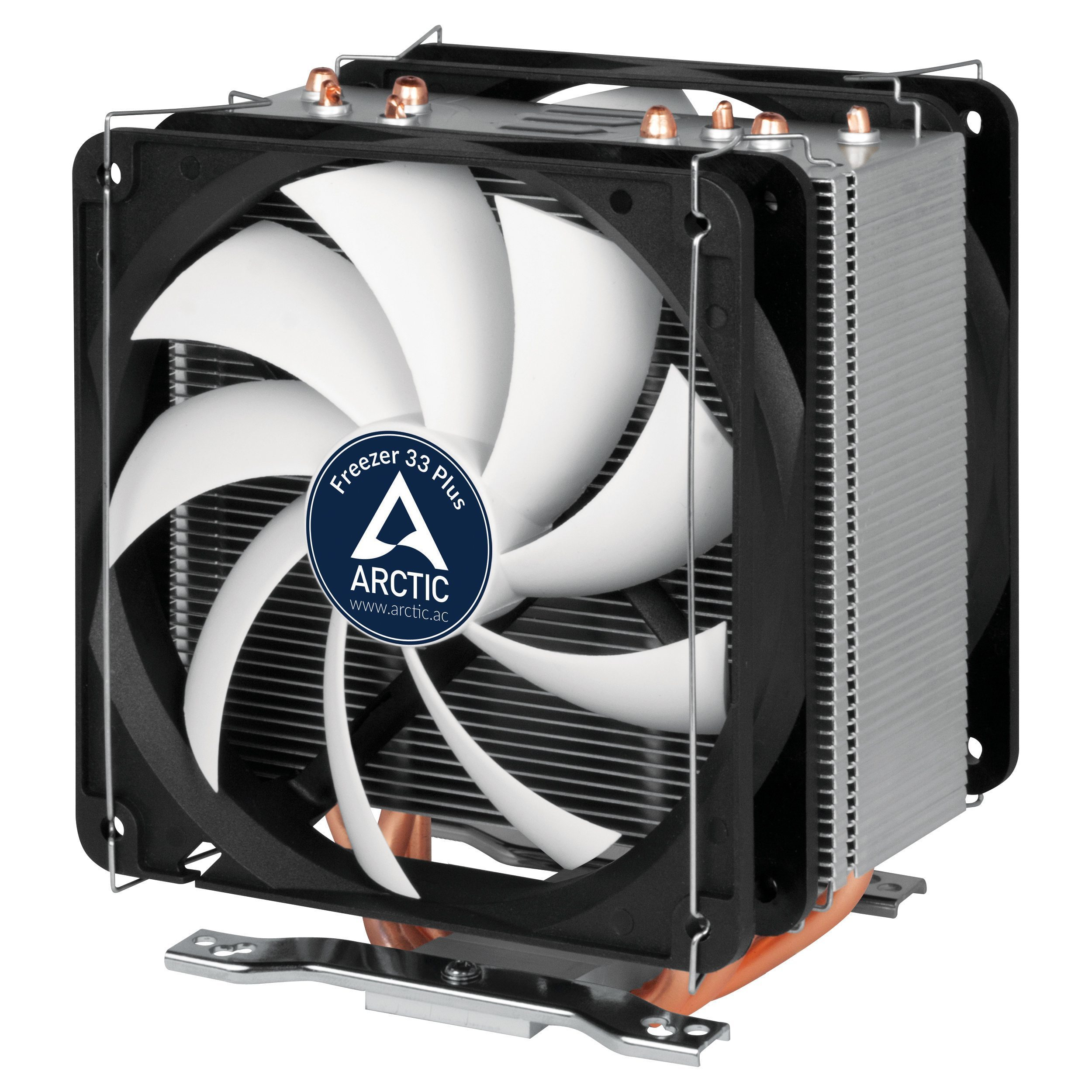 Arctic Охлаждане Freezer 33 PLUS - 2 fans - AM4/2011/1150/1151/1155/1156