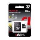 карта памет microSDXC 32GB UHS-1 Class 10 Adapter - ad32GBMSH310A