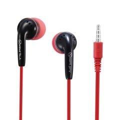 слушалки Revolutionary In-earphones black&red - AM-1002-BKRD
