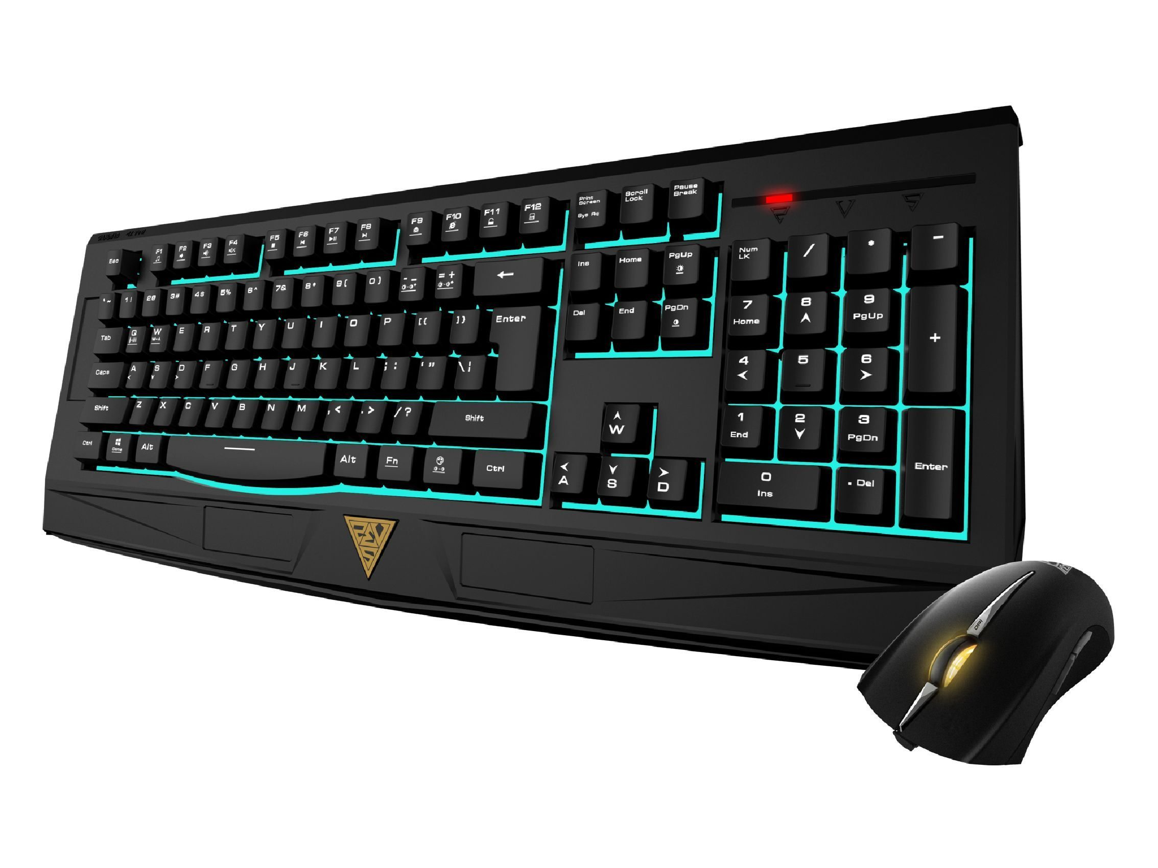 геймърски комплект Gaming COMBO - ARES 7 Color ESSENTIAL COMBO - keyboard + mouse