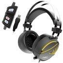 Gaming Heaphones - HEBE M1 RGB Virtual 7.1 / Vibration