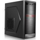 Segotep Кутия със захранване Case ATX AND Black/Red 500W PSU