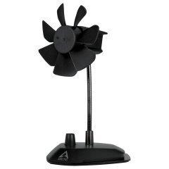 вентилатор за бюро Breeze Black - USB Desktop Fan