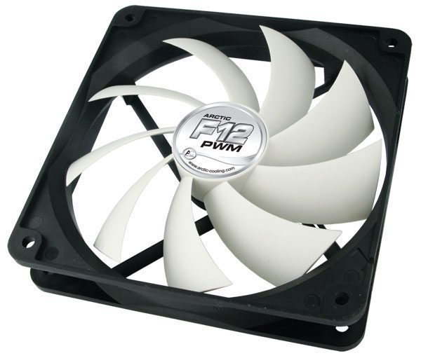 Arctic Fan F12 PWM PST - 120mm/300-1350rpm