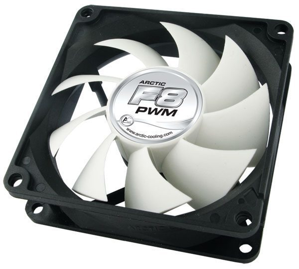 Arctic Fan F8 PWM PST - 80mm/700-2000rpm