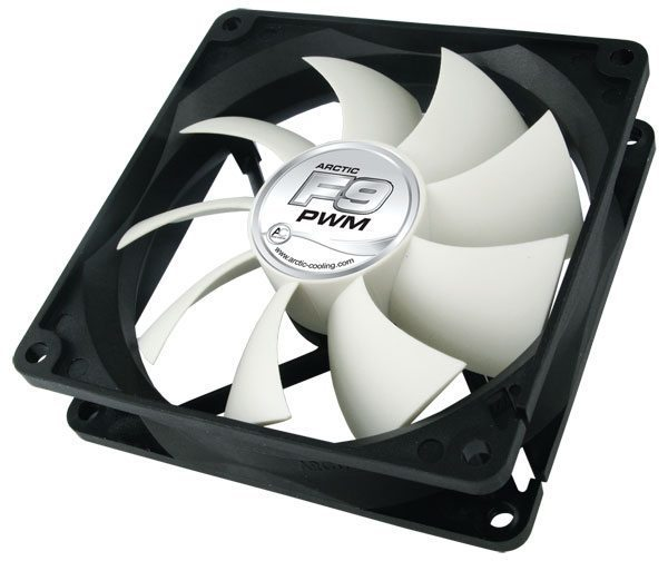 Arctic Fan F9 PWM PST - 92mm/600-1800rpm