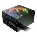 Gamdias захранване PSU - ASTRAPE M1-650W RGB - 80 Plus, APFC