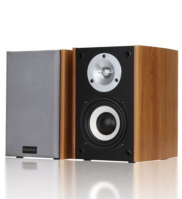 Microlab Тонколони Speakers 2.0 B-73 wooden 20W RMS