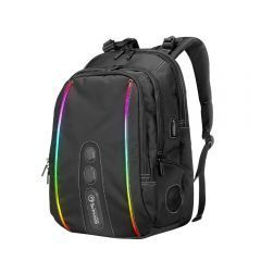 "геймърска раница Gaming Backpack 15.6"" RGB with Bluetooth Speaker - MARVO-BA-02"