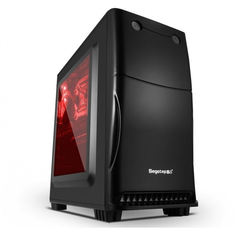 Case mATX BAYMINI-BK USB3.0
