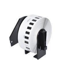 съвместими етикети Brother DK-22210 - Roll White Continuous Length Paper Tape 29mm x 30.48m, Black on White - MK-DK-22210