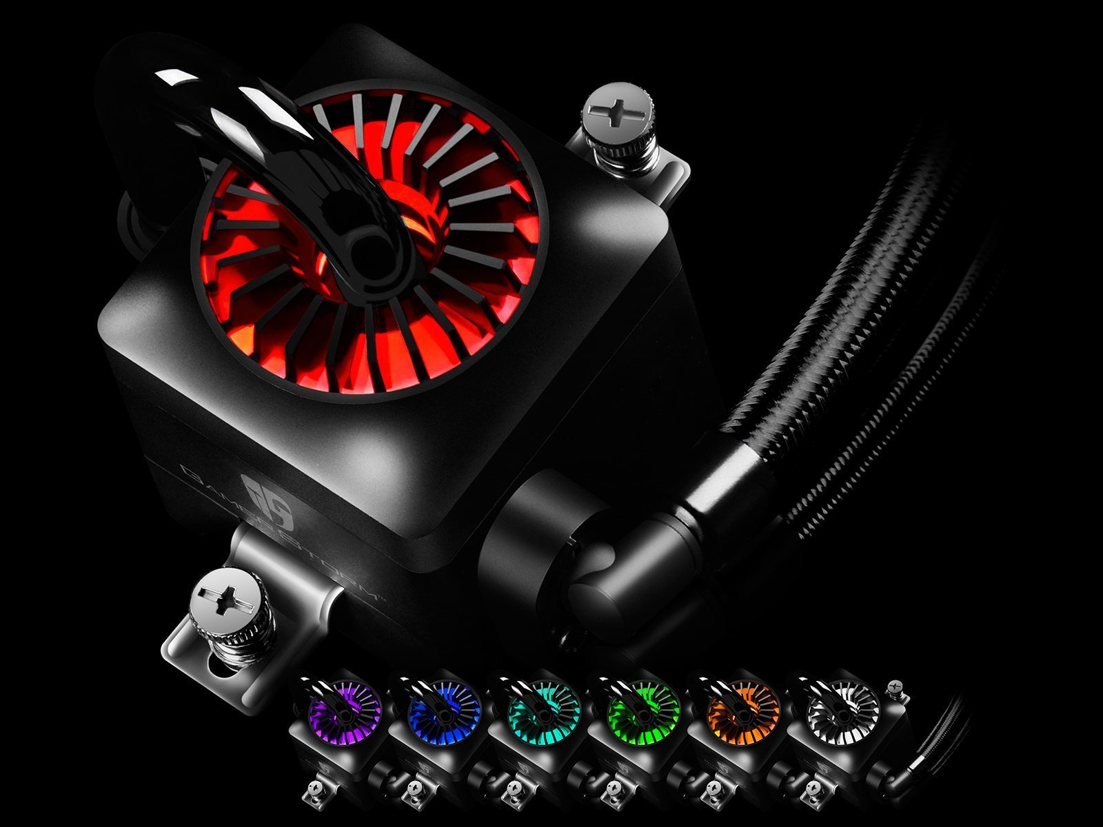 Water Cooling CAPTAIN 120 EX RGB - Aura Sync - 2066/2011/1366/1150/1151/1155/1156/AM4/AMD