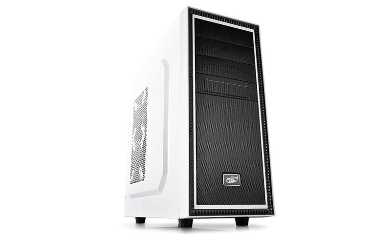 DeepCool Кутия за компютър Case TESSERACT WH - White USB 3.0