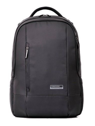 "Kingsons Laptop Backpack 15.6"" KS3022W :: Elite Series - Black"