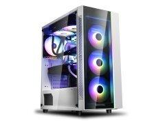 кутия Case ATX MATREXX 55 WHITE V3 ADD-RGB WH 3F