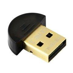 блутут адаптер Adapter Bluetooth 4.0 USB, black - DU115