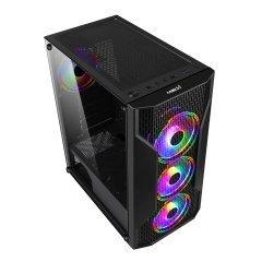 Кутия Case ATX Gaming - F09 RGB 3F Mesh