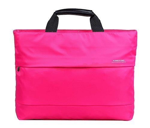 "Laptop Bag 15.4"" KS3035W-P :: Charlotte Series - Pink"