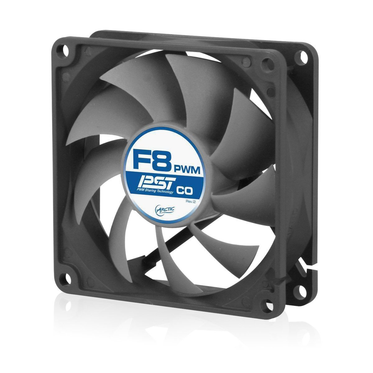 Arctic Fan F8 PWM PST CO - 2Ball - 850-2000rpm