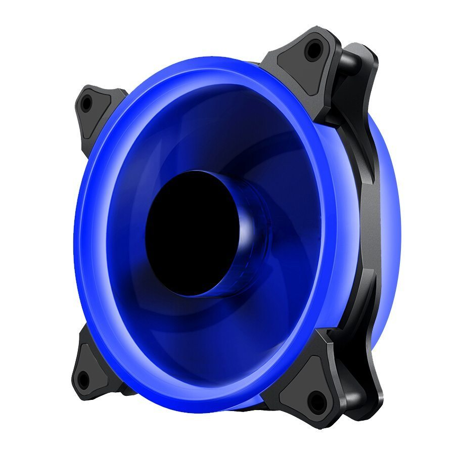 Fan 120mm - BLUE LED Double Ring
