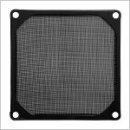 Evercool Fan Filter Metal Black - 80mm