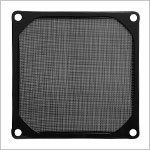 Fan Filter Metal Black - 120mm