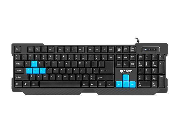 Геймърска клавиатура Gaming Keyboard HORNET NFU-0865