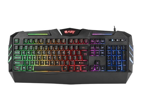 Геймърска клавиатура Gaming Keyboard FURY SPITFIRE RGB NFU-0868