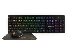 Gaming COMBO Mechanical HERMES P1B 3-in-1 - Keyboard, Mouse, Mousepad