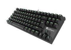 Геймърска клавиатура Mechanical keyboard 87 keys THOR 300 TKL GREEN BACKLIGHT NKG-0945