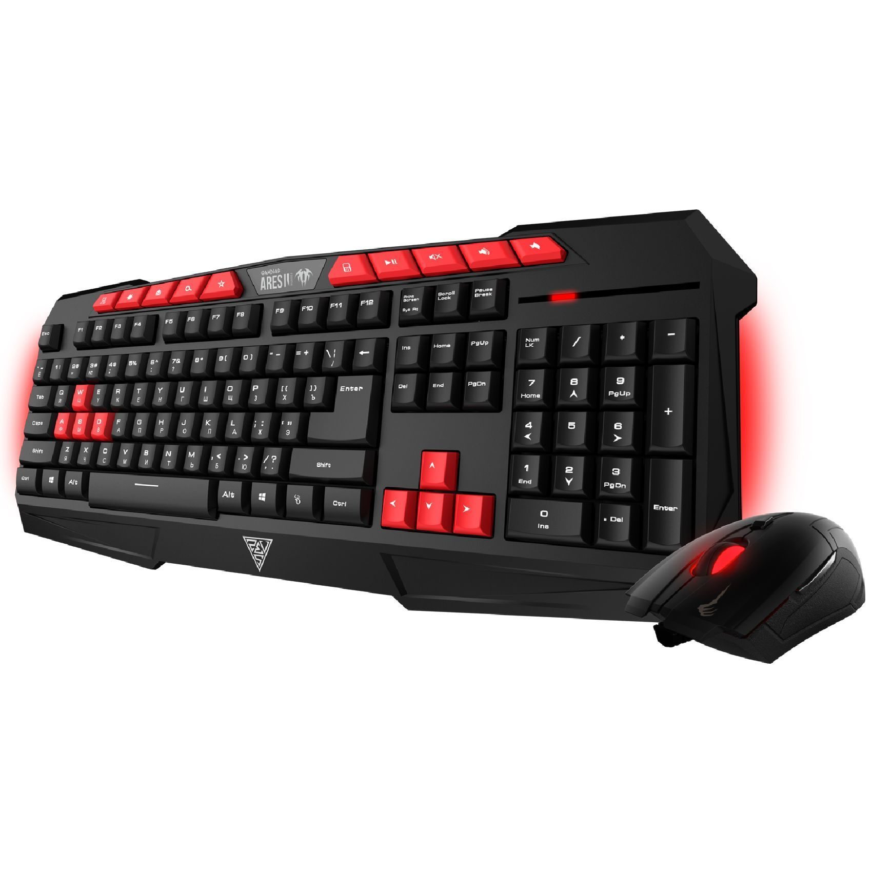 геймърски комплект Gaming COMBO - ARES V2 ESSENTIAL COMBO - Keyboard + Mouse