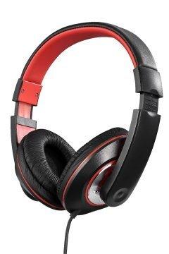 слушалки Groove Headphones black&red - AM2006/BKR