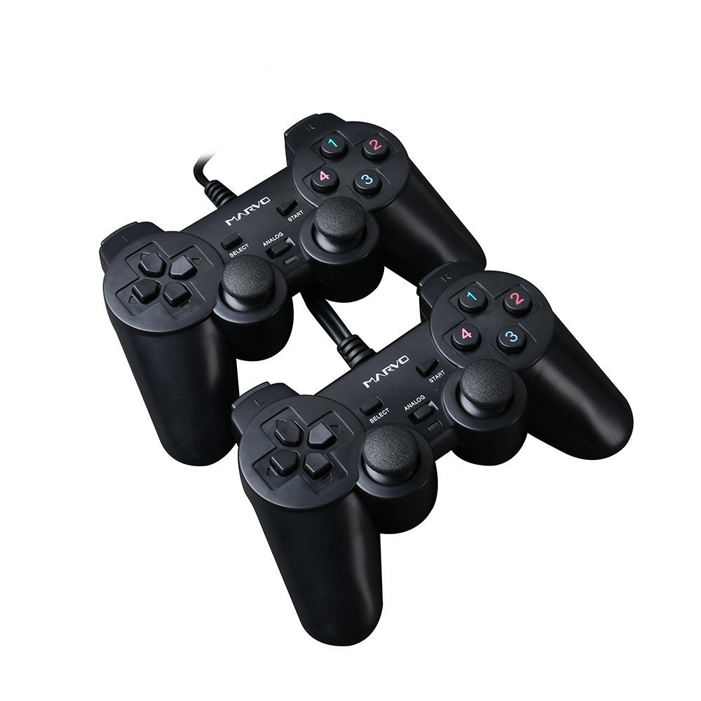 DUAL Gamepads GT-007 - USB/PC/Vibration - MARVO-GT-007