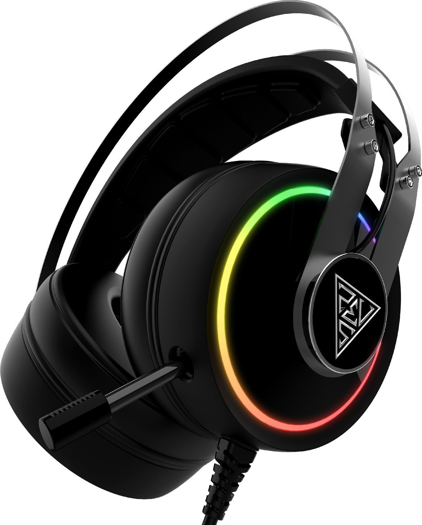геймърски слушалки Gaming Heaphones - HEBE P1A RGB Virtual 7.1 / Vibration