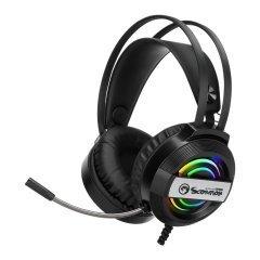 геймърски слушалки Gaming Headphones 50mm RGB USB - MARVO-HG8902
