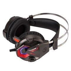 геймърски слушалки Gaming Headphones HG8914 Backlight - PC/PS/XBOX 3.5mm jack - MARVO-HG8914